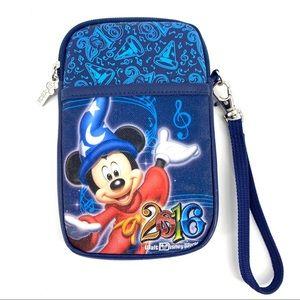 Disney Parks Sorcerer Mickey Tech Wristlet